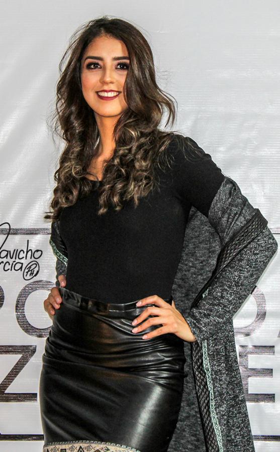 Gray tunic black stripe